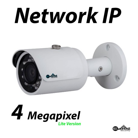 4 Megapixel Mini Lite Bullet IR IP Camera 3.6mm
