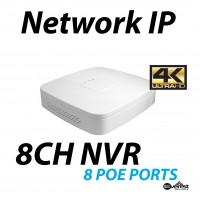 8 Channel NVR 4K 8 POE Mini