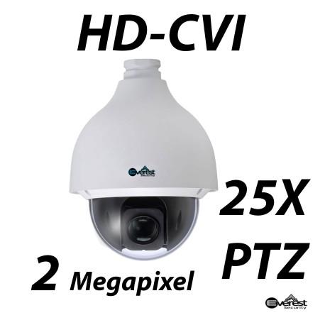 2 Megapixel 25x HD-CVI Starlight PTZ