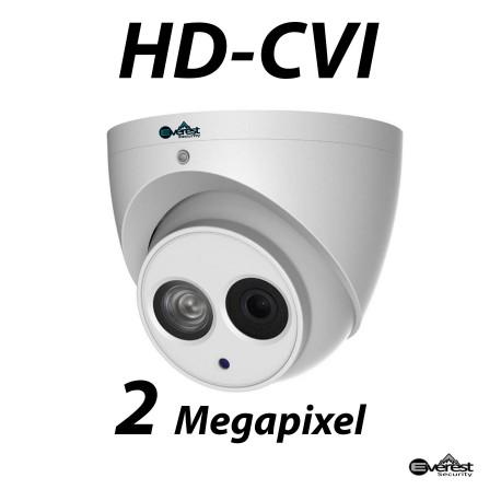 2 Megapixel HD-CVI Turret Dome IR 3.6mm