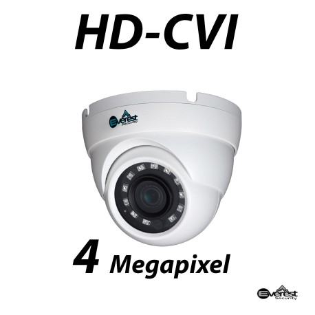 4 Megapixel HD-CVI Small Dome IR 3.6mm