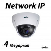 4 Megapixel Lite Dome IR IP Camera 2.8mm