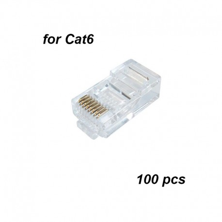 RJ45 Cat6 connectors