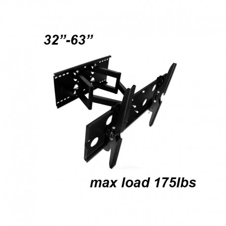 """LCD Wall Mount 32-63"""" (extendable)"""