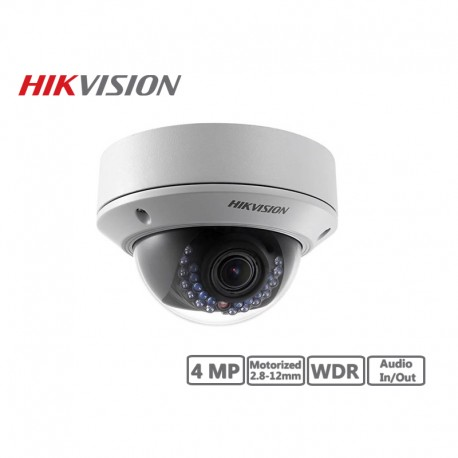 Hikvision 4MP Network IP Motorized Dome Camera 2.8-12mm