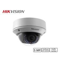 Hikvision 5MP Vandal-proof Varifocal Network Dome Camera