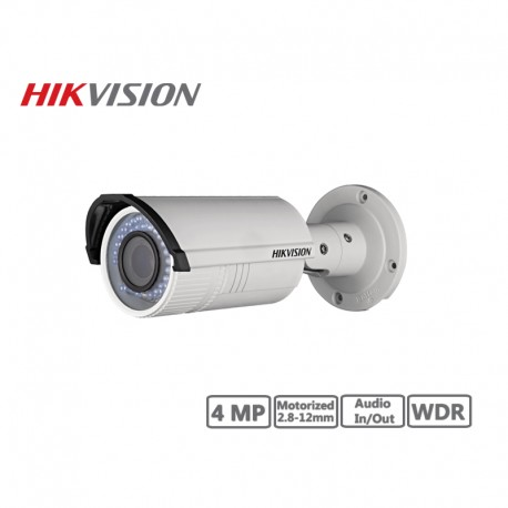 Hikvision 4MP Motorized 2.8-12mm Network Bullet Camera