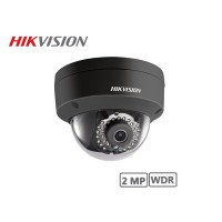 Hikvision 2MP Fixed Dome Network Camera (Black)