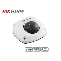 Hikvision 4MP Network Mini Dome Camera (Black)