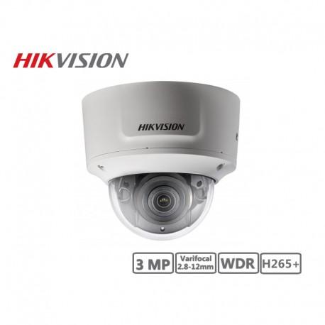 Hikvision 3MP Varifocal 2.8-12mm Network Dome Camera H265+