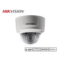 Hikvision 8MP Varifocal 2.8-12mm Network Dome Camera H265+
