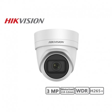 Hikvision 3MP Motorized 2.8-12mm Network Turret Camera H265+