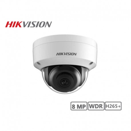 Hikvision 8MP WDR Network Full Dome Camera H265+