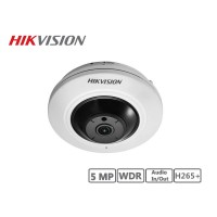 Hikvision 5MP Fisheye Camera H265+