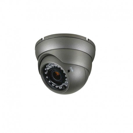 4 IN 1 - 2.MP Varifocal 2.8-12mm Dome Camera - Gray