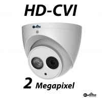 2 Megapixel HD-CVI Turret Dome IR 2.8mm