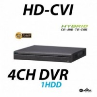 4 Channel HD-CVI Mini DVR Hybrid