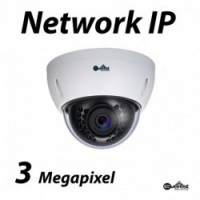 3 Megapixel Lite Dome IR IP Camera 3.6mm