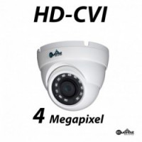 4 Megapixel HD-CVI WDR Small Dome IR 3.6mm