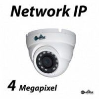 4 Megapixel Small Dome IR IP Camera 2.8mm