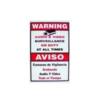 CCTV Warning Sign  - Medium
