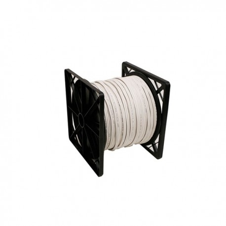 RG59U Siamese Cable 1000ft (White)