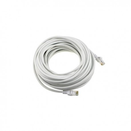 CAT5e patch cable 100ft (white)