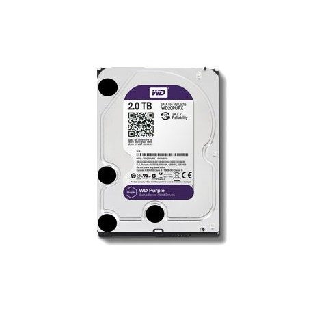 2TB Purple Hard Drive