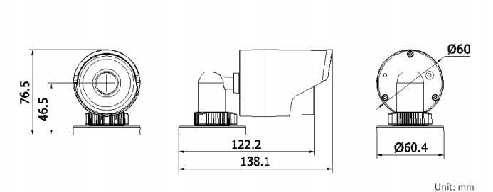 HK-2CD2032-1 Dimensions