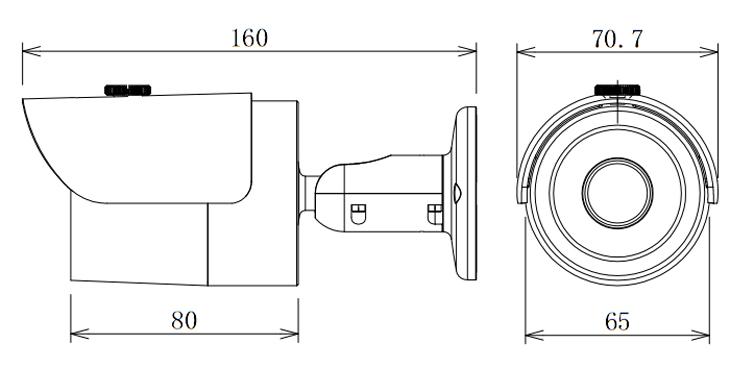 IPC-HFW3200S Dimensions
